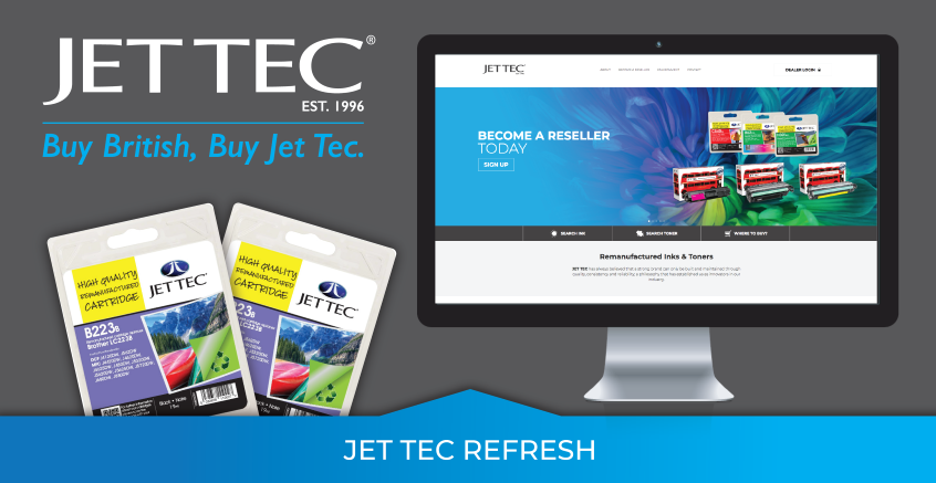 Jet Tec has been refreshed